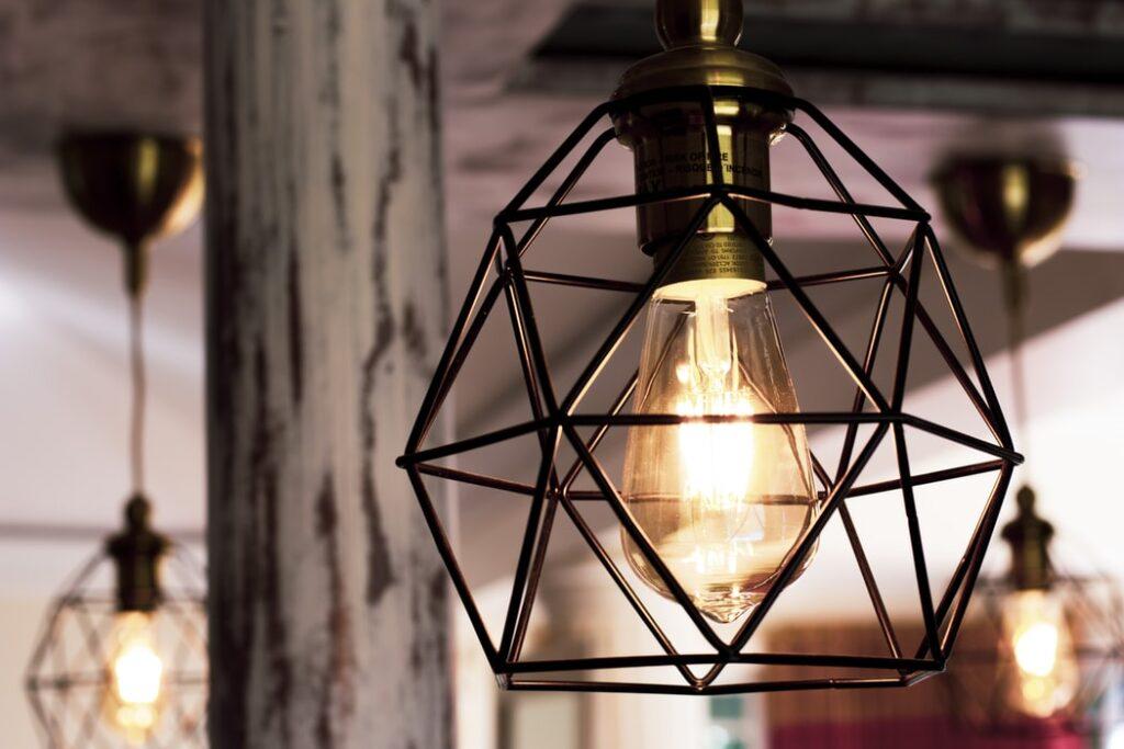 iluminat stilul industrial