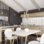 Cum să separi o bucatarie open space